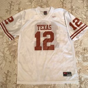 Nike UNIVERSITY OF TEXAS jersey WILL FIT LADIES!!!